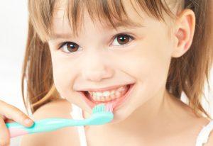 Vaikų dantų gydymas